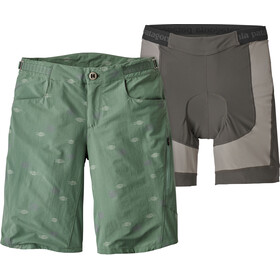 Patagonia W's Dirt Craft Bike Shorts Heritage Lines: Pesto